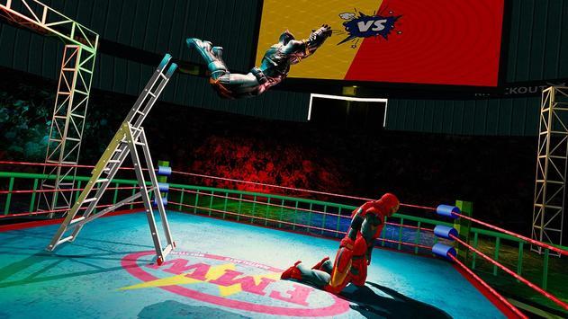 Superhero Wrestling Battle Arena Ring Fighting screenshot 9
