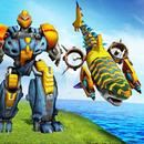 APK Shark Robot Transforming War Attack