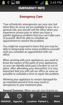 Peluso Orthodontics apk screenshot