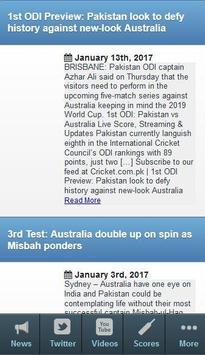 England Cricket News apk screenshot