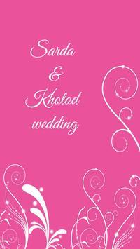 Sarda & Khatod Wedding poster