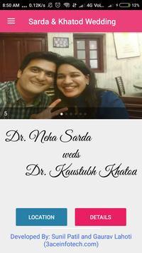 Sarda & Khatod Wedding screenshot 1