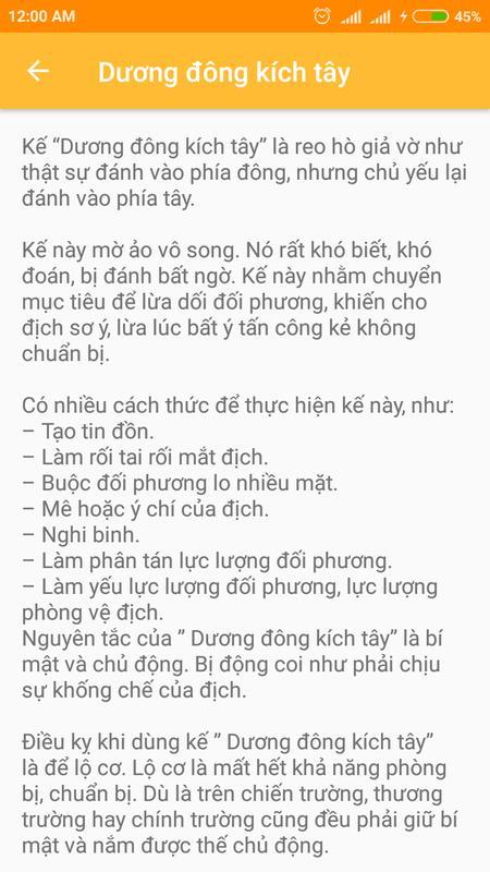 ... 36 Kế Binh Pháp Tôn Tử screenshot 2
