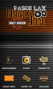 Pasco Lax Harley Jam poster
