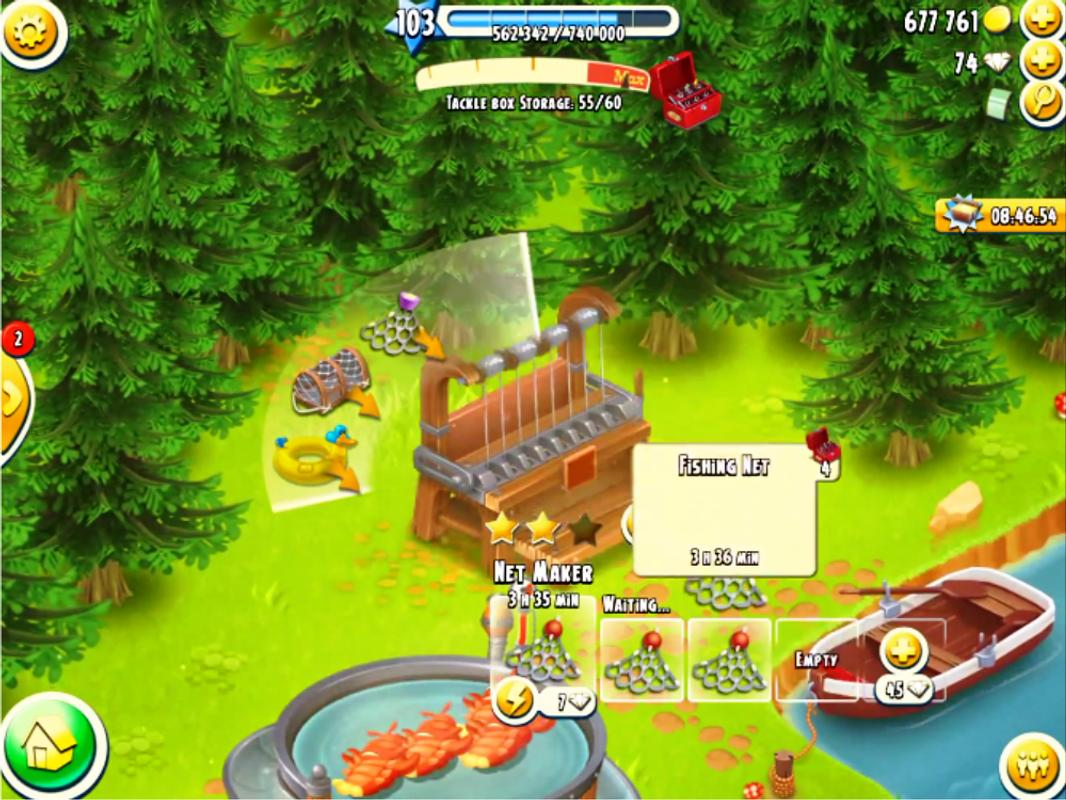 hay day fishing guide