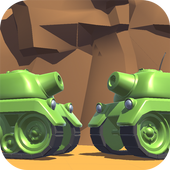 Tanks 3D for 2 players on 1 device - split screen icon