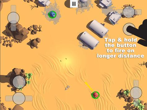 Tanks 3D for 2 players on 1 device - split screen screenshot 12