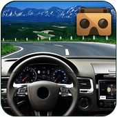 Highway VR Car icon