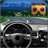 Highway VR Car icon