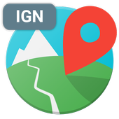 IGN maps (E-walk plugin) icon