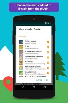 IGN maps (E-walk plugin) apk screenshot
