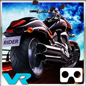 Highway Stunt Bike Rider VR icon
