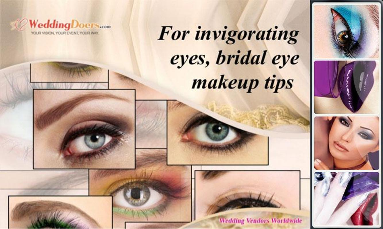 Bridal Makeup Tutorialbridal Eyelips Hairstyles For Android Apk