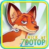 Nick at Zootop Puzzle icon