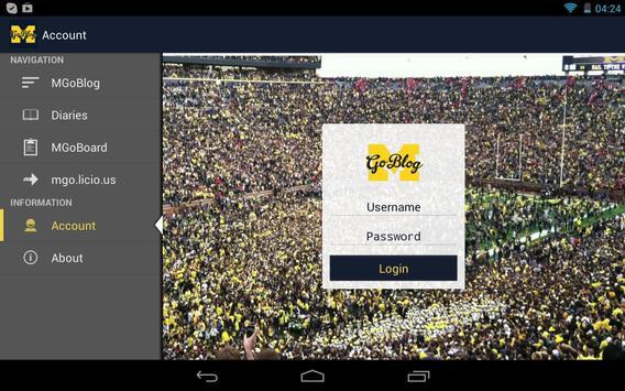 MGoBlog apk screenshot