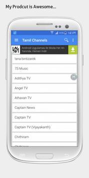 Tamil TV sat info poster