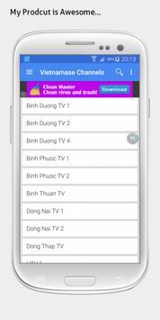 Vietnam TV sat info apk screenshot