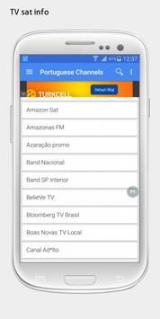 Brazil TV sat info apk screenshot