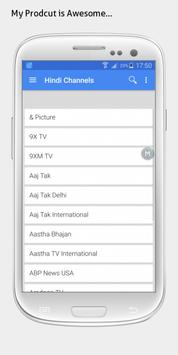 India TV sat info apk screenshot