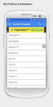Kurdish TV sat info apk screenshot