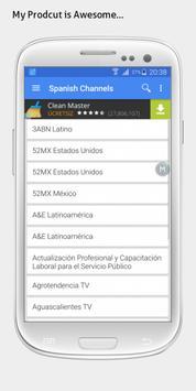 Mexico TV sat info apk screenshot