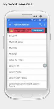 Poland TV sat info apk screenshot