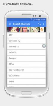 South Africa TV sat info apk screenshot