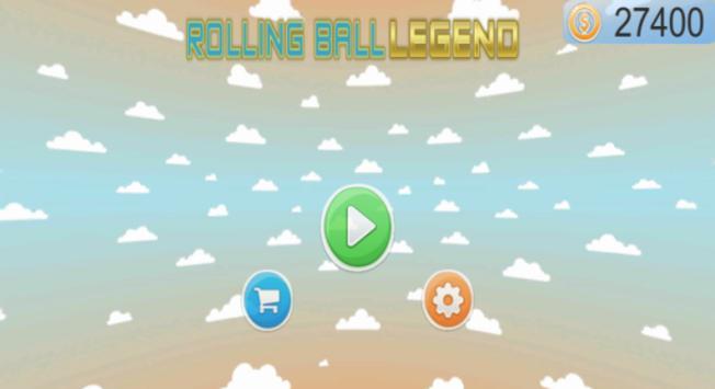 Roling Ball LEGEND poster
