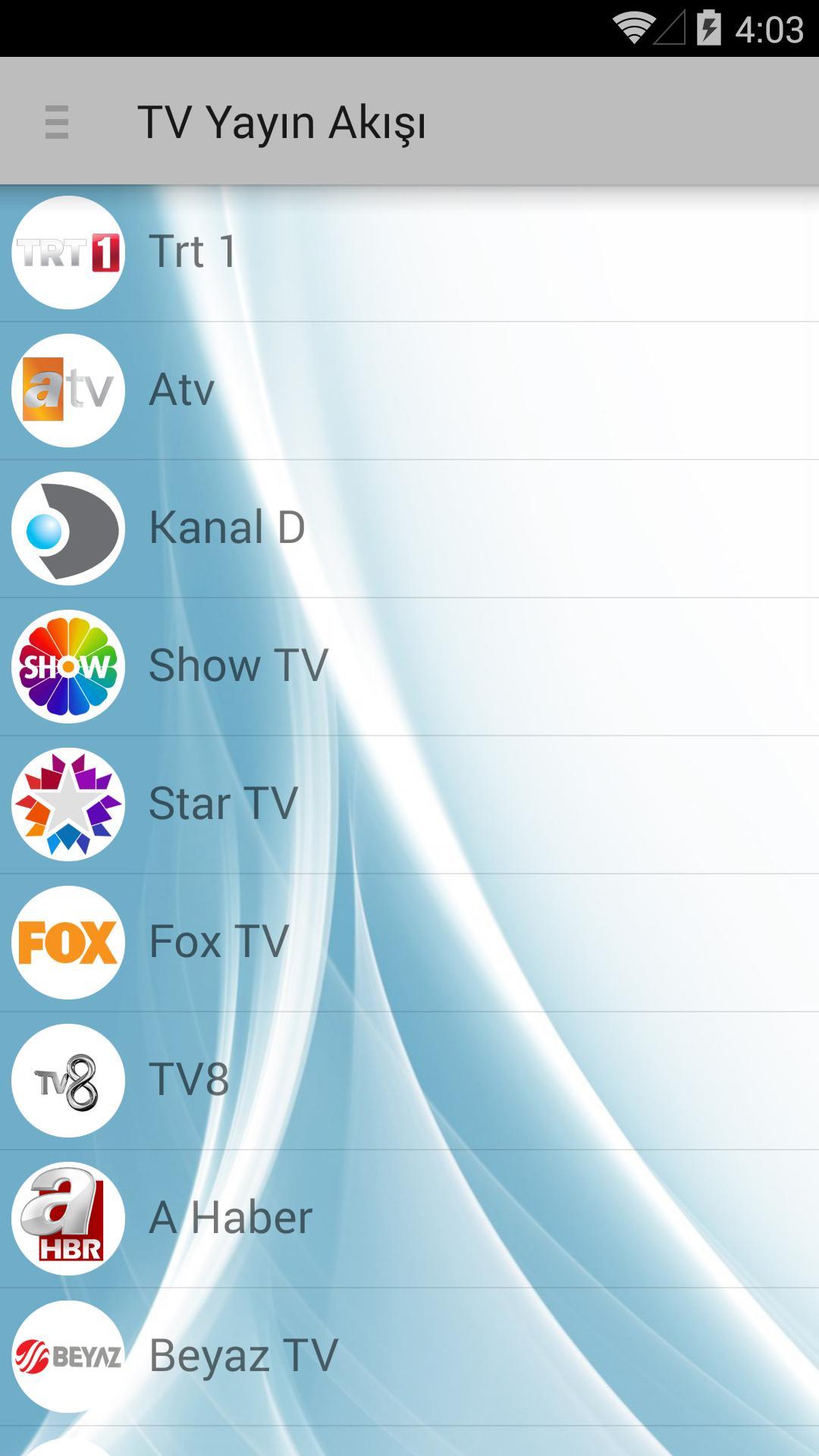 TV Yayın Akışı for Android - APK Download