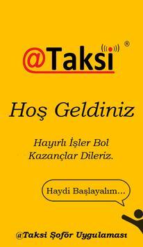 @Taksi Şoför poster