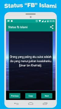 Status Kata Bijak Islami poster