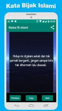 Status Kata Bijak Islami apk screenshot