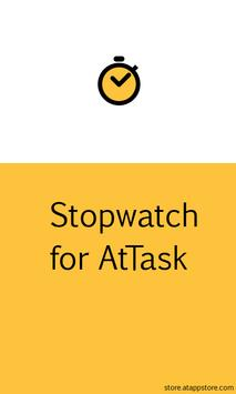 Stopwatch for AtTask poster