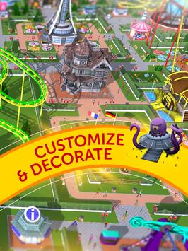 RollerCoaster Tycoon Touch apk スクリーンショット