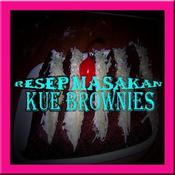 Resep Kue Brownies Lengkap poster