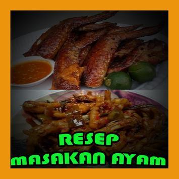 RESEP MASAKAN AYAM LENGKAP poster
