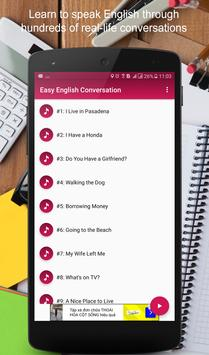 Easy English Conversation poster