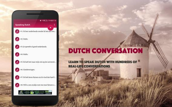 Speaking Dutch poster