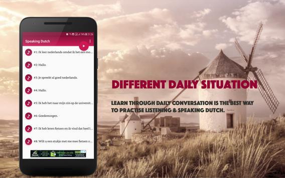 Speaking Dutch screenshot 1