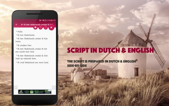 Speaking Dutch screenshot 2