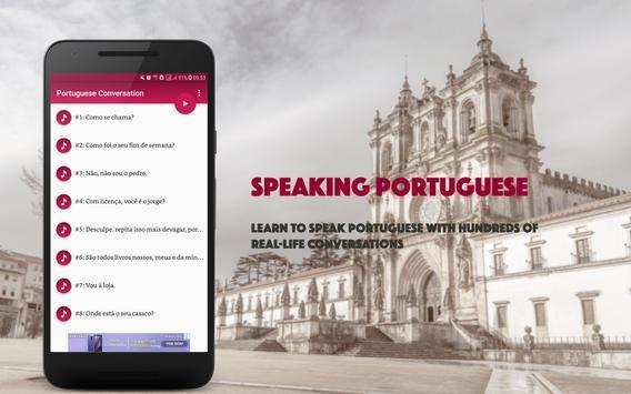Portuguese Conversation screenshot 8
