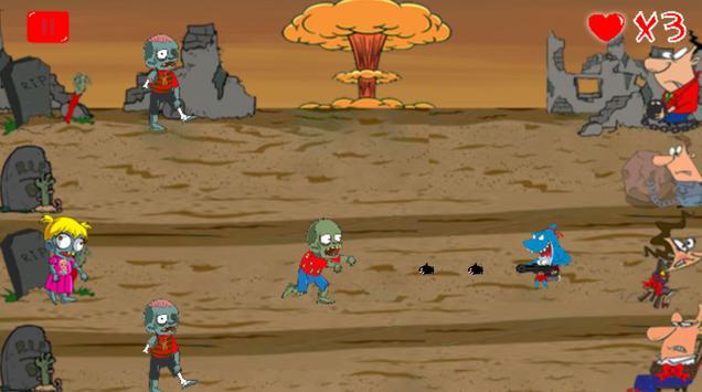 SantaShark vs. Zombies screenshot 4