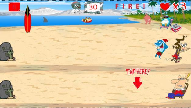 SantaShark vs. Zombies screenshot 1