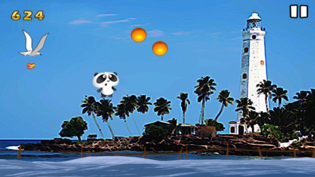 Panda at Sri Lanka Beach apk screenshot