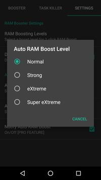 RAM Booster eXtreme screenshot 4