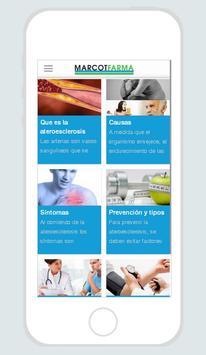 Marcotfarma Aterosclerosis apk screenshot