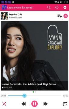 Lagu Isyana Sarasvati Lengkap apk screenshot