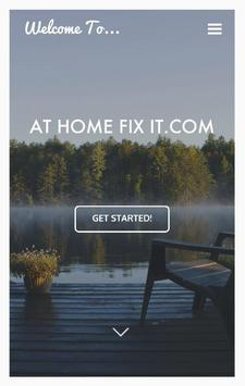 At Home Fix It poster