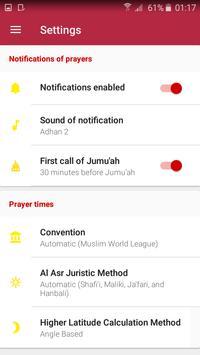 My Prayer_صلاتي: Qibla, Adhan, Coran screenshot 2