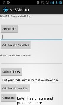 Md5 File Sum Checker - FREE for Android - APK Download
